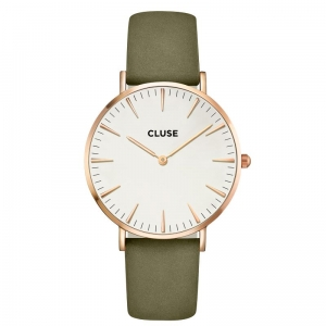 CLUSE La Bohème Rose Gold White/olive green